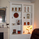 fitted alcove display unit